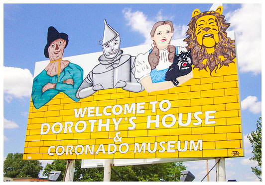 Welcome to Dorothy's House & Coronado Museum