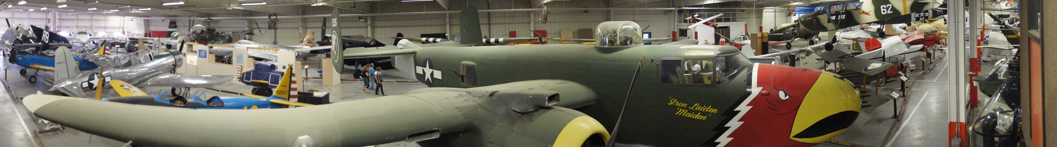 Panoramic view of the Air Museum